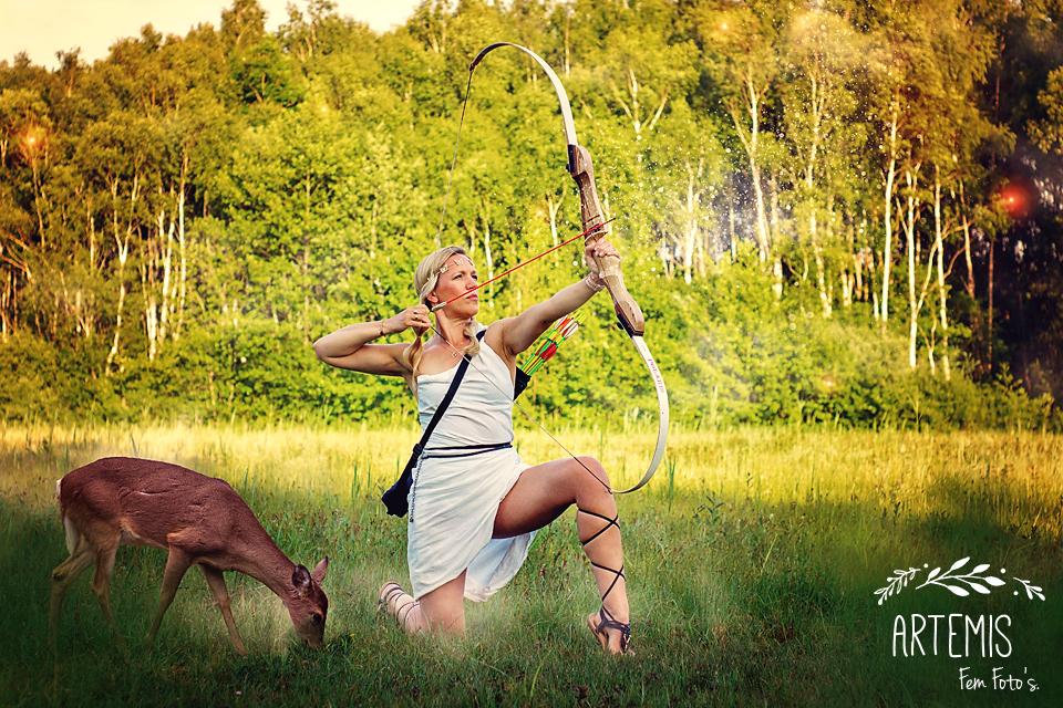 De stoere Artemis.